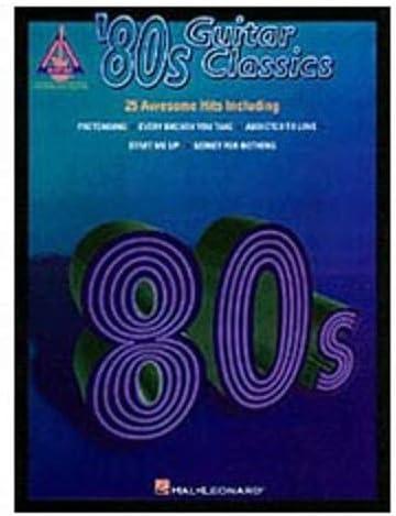 Hal Leonard 80s - Guitarra clásica (TAB): Amazon.es: Instrumentos ...