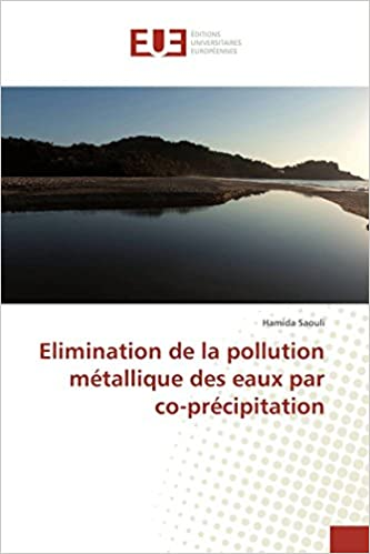 Hamida Saouli - Elimination De La Pollution Métallique Des Eaux Par Co-précipitation