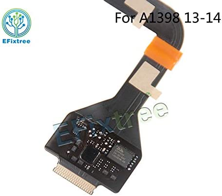 ShineBear Original New A1398 Touch pad Cable 821-1904-A for MacBook Pro Retina 15 A1398 Trackpad Flex Cable 2013 2014 Replacement Cable Length: Standard