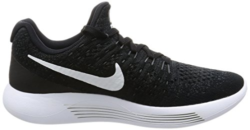 Nike Damen Lunarepic Low Flyknit 2 Laufschuhe schwarz (Black/White/Anthracite 001)