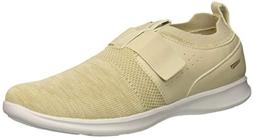(Copper Fit Women's Spirit Strap Sneaker tan 8.5 Medium US)