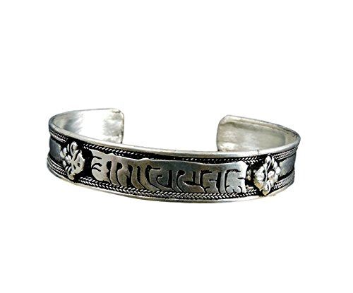 Handmade Tibetan silver Medicine Bracelet From Nepal many choice (Compassion)