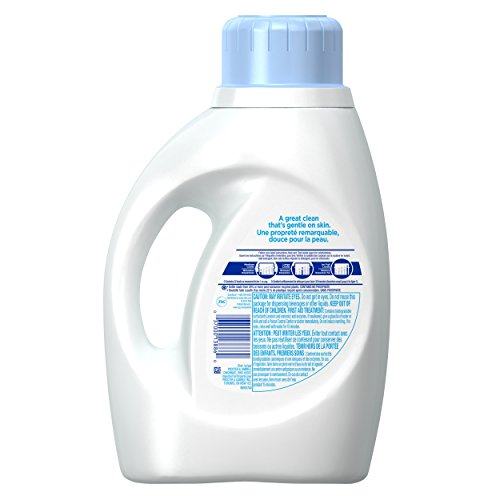 Review Tide Free and Gentle High Efficiency Liquid Laundry Detergent, 50 oz, 32 loads