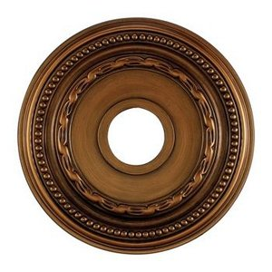Elk M1001AB Campione Ceiling Medallion, 16-Inch, Antique Bronze Finish