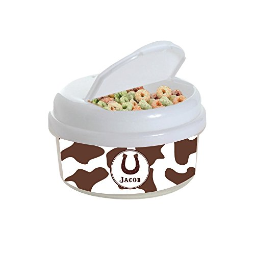 Horseshoe Snack Container ()