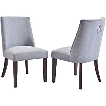 Beige Dining Chairs With Chrome Legs
