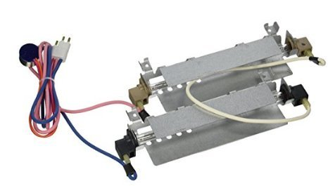 Hotpoint Parts Fridge - WR51X442 Refrigerator Defrost Heater Kit for GE, Hotpoint, Kenmore, RCA; Part NO. WR51X0342 WR51X0371 WR51X0442 WR51X0463 WR51X342 WR51X371 WR51X463 AP2071464 1972 AH303933 EA303933 PS303933
