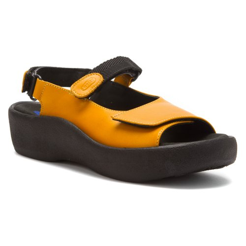 Leather Papaya Smooth 3204 Wolky Jewel Sandals Leather Womens q8xZXv0w