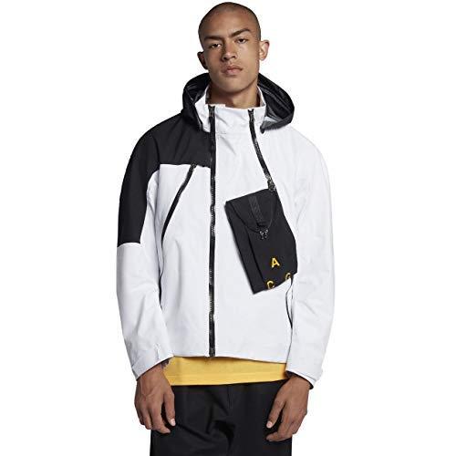 - Nike Lab ACG Gore-Tex Deploy Men's Jacket (White/Black, Small)