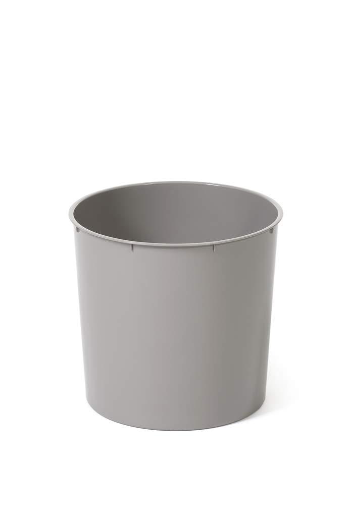 Multicolore DUET Taupe plastica per Interni ed Esterni /Ø 195 mm Vaso da Fiori con Diametro di 195 mm Ecru