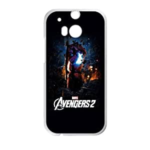 HTC One M8 Cell Phone Case White Avengers 2 LSO7787646