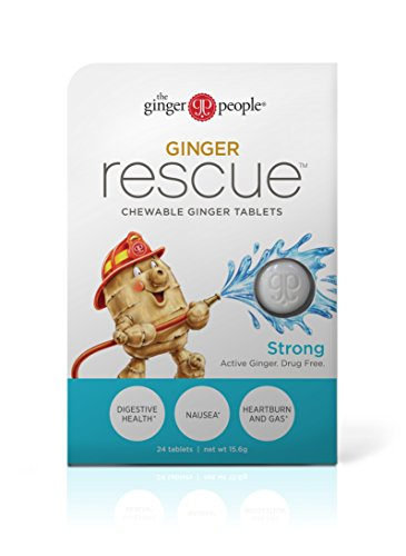 The Ginger People Rescue , Strong, (Pack of 10) (Ginger Tablets)