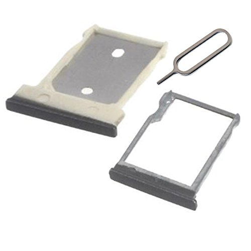 Sim Card Tray & Micro SD Card Holder For H TC One M9 Hima replacement (gray) (Htc One Sim Card Tray)