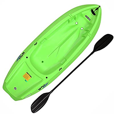 Lifetime Youth Wave Kayak with Paddle, 6 Feet, Lime Green