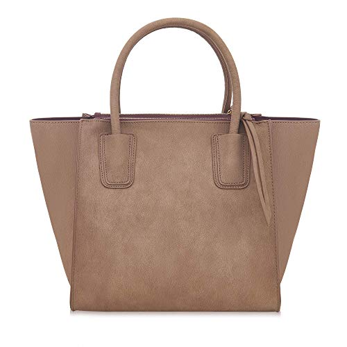 Large Work Labante Demi Bags Tote Brown For Women Leather School Women Pu Vegan Bag Handbags XFXrp