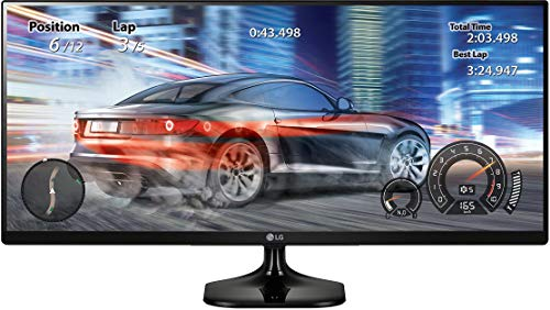 LG 25UM58-P 25-Inch 21:9 UltraWide IPS Monitor with Screen Split (Best 21 9 Games)