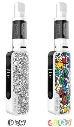 Electronic Cigarette, E Starter Kit JWell Gecko Slim