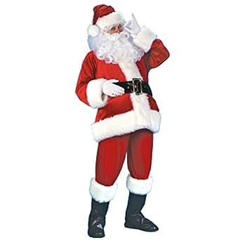 Amazon.com: X-COSTUME - Disfraz de Papá Noel para adulto ...
