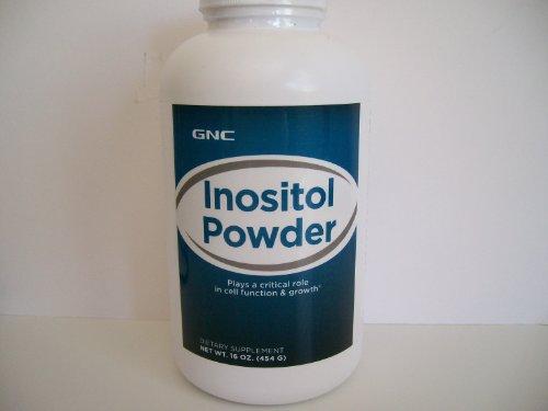 GNC инозитол порошок, 16 унций
