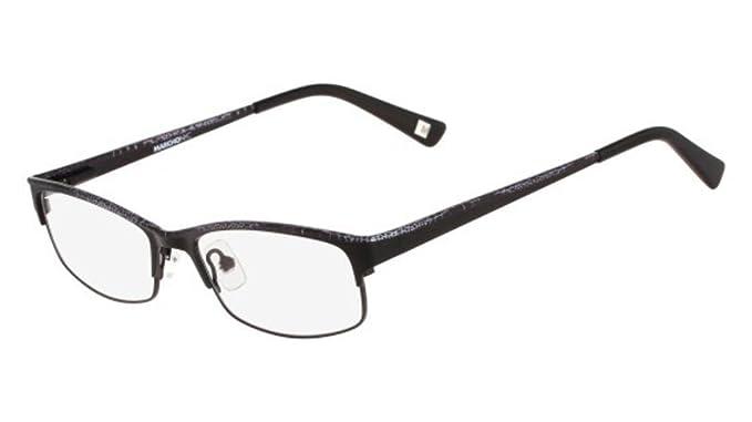 9916d0f0a0a Eyeglasses MARCHON M-CENTRAL 001 BLACK at Amazon Men s Clothing store