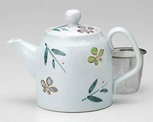 Miyako-wasure 4.1inch Set of 10 Japanese Teapots White porcelain Made in Japan by Watou.asia