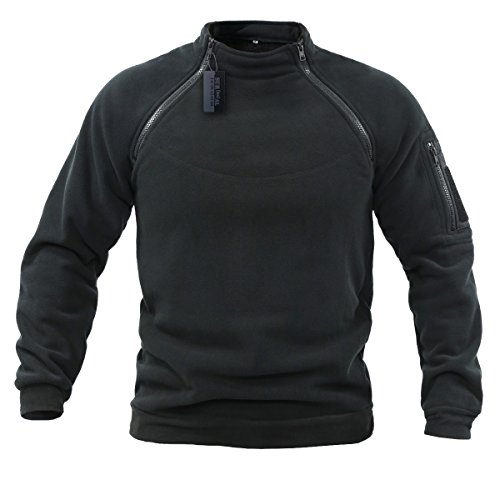 ZAPT Cold Weather Tactical Soft Shell 2-Zip Warm Fleece Jacket Military Special Polartec Thermal Pro Fleece
