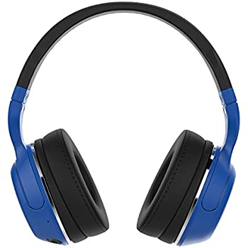 Skullcandy S6HBHW-515 Hesh 2 Bluetooth Wireless Over-Ear Headphones with Microphone, Supreme Sound and Powerful Bass, 15-Hour Rechargeable Battery, Soft Synthetic Leather Ear Cushions