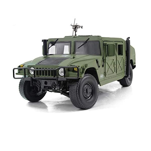 Fisca 1/18 Scale Model Car Metal Diecast Military Armored Vehicle Battlefield Truck 1