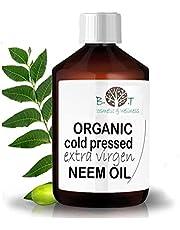 Trädgård Organisk jungfru Neem-olja Garden neem olja kallpressad oraffinerad 100 % ren (100 ml)