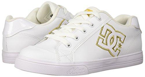 White Unisexe Chaussures Chelsea Dc gold Enfant Se qaw1xxHU