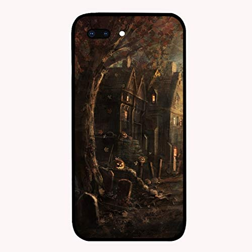 Halloween Tombstones Personalized iPhone 7/7/8 Plus Cover Shockproof Hard PC for iPhone 7/7/8 Plus Case 5.5