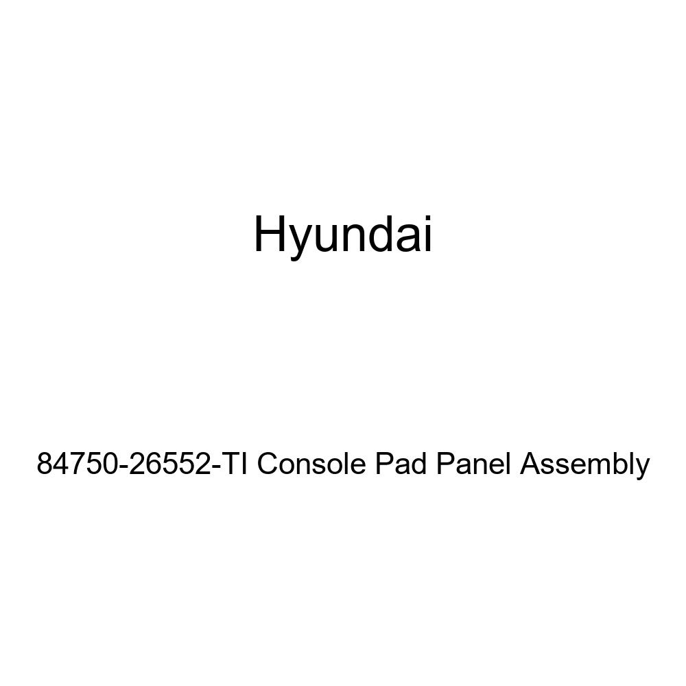 Genuine Hyundai 84750-26552-TI Console Pad Panel Assembly