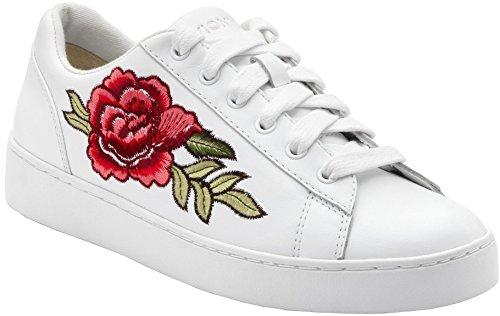Vionic Womens Floral Sneaker Floreale Bianco