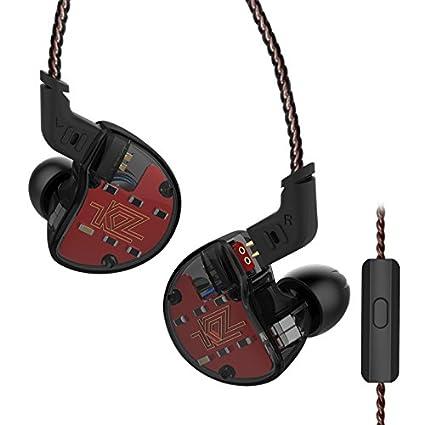 Auricular Auricular Auricular KZ ZS10 4BA 1 Dinámico Híbrido HI FI DJ Monitor En Auriculares (