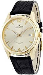 Hamilton Men's H38435721 Jazzmaster Thinomatic Champagne Dial Watch