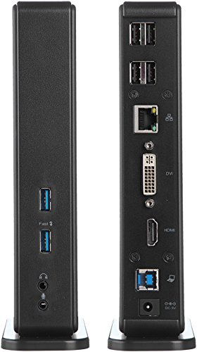AmazonBasics USB 3.0 Universal Laptop Docking Station by AmazonBasics (Image #2)