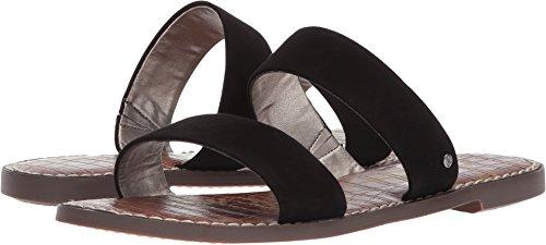(Sam Edelman Women's Gala Slide Sandal, Black Suede, 8 M US)