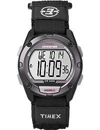 Timex Men's T49949GP Expedition Chrono Alarm Timer Black Velcro Watch