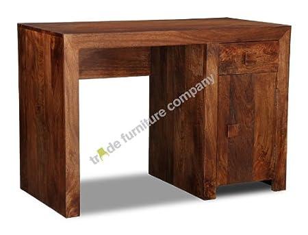 Dakota Furniture Wooden 1 Door Desk - Study Furniture  sc 1 st  Amazon UK & Dakota Furniture Wooden 1 Door Desk - Study Furniture: Amazon.co.uk ...