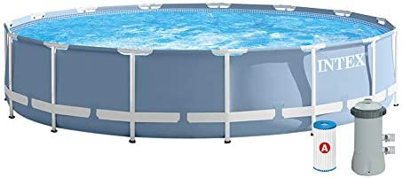Intex 26728NP - Piscina desmontable Prisma Frame 457 x 84 cm ...