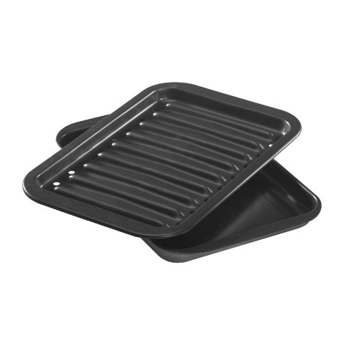 Nordic Ware Nonstick Broiler Pan Set (Small Oven Broiler Pan compare prices)