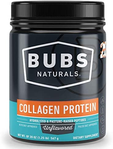 BUBS Naturals Grass Fed Collagen Peptides