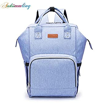 1a32a8be9f99 Amazon.com   Iniesta  Ankommling USB Interface Diaper Bag Maternity Nappy  Bag for Baby Stroller Bag Large Capacity Nursing Backpack for Travel Wet Bag    ...