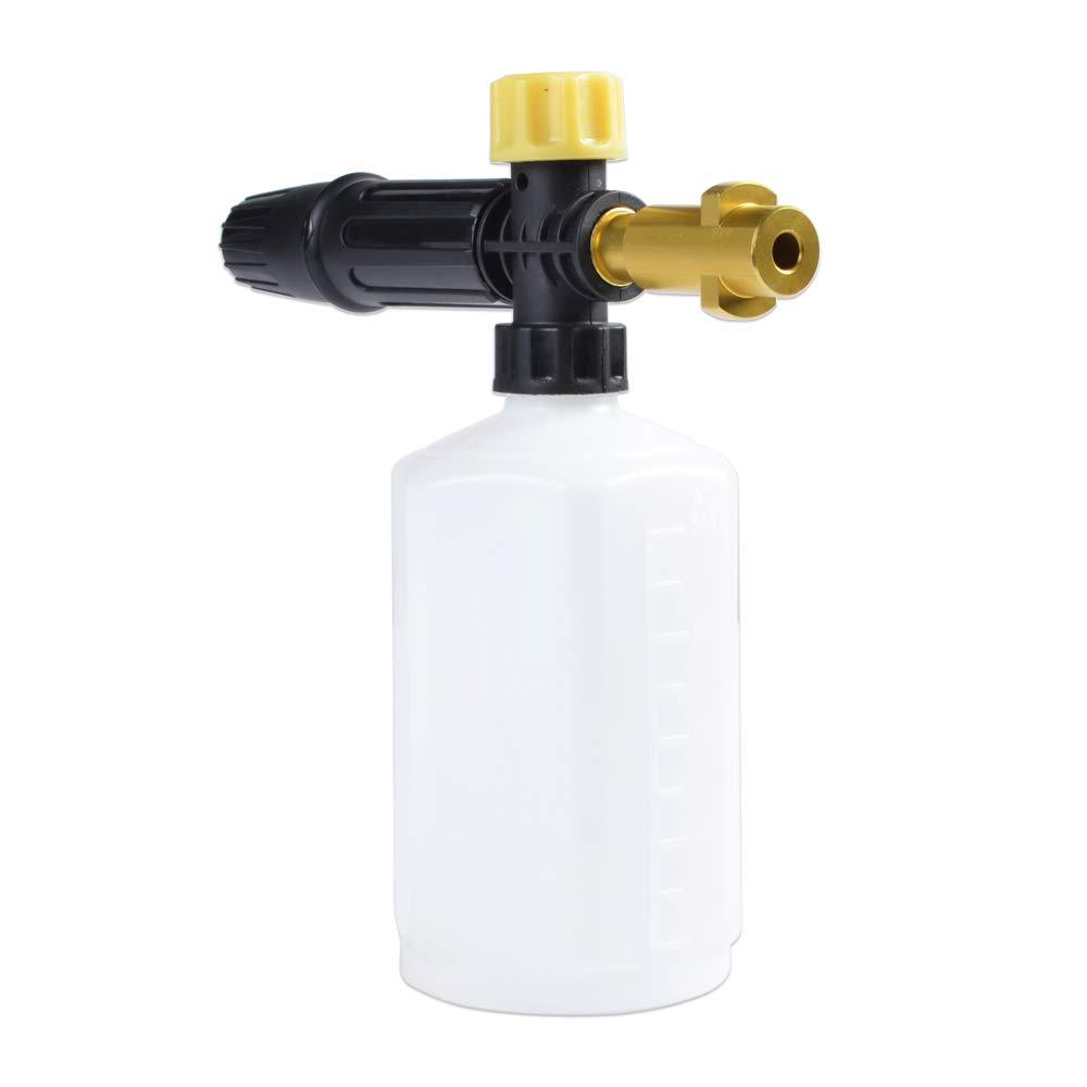 Karcher K-Series boquilla de espuma//jab/ón de jab/ón de lavado para arandela de alta presi/ón Pistola de espuma de nieve para ca/ñ/ón y generador de espuma
