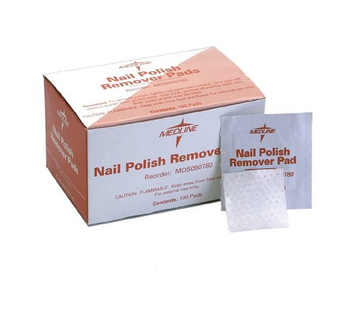 Medline MDS090780 Individual Polish Remover