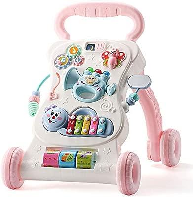 Walker bebé Baby Walker Trolley antivuelco Baby Music Play 6 ...