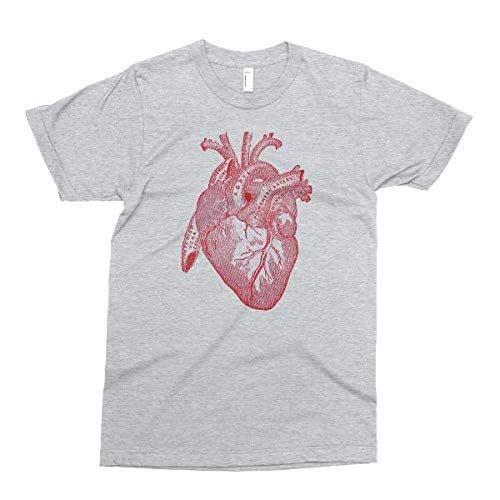 Anatomical Tee I love Anatomy Shirt Anatomy Heart Shirt