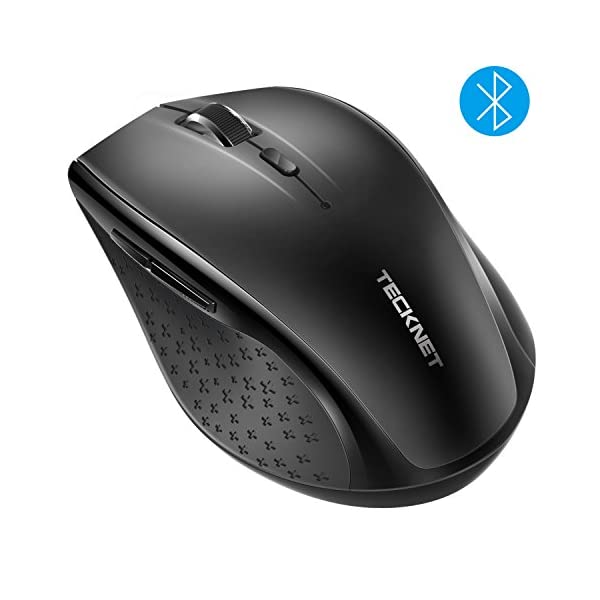 TECKNET Bluetooth Wireless Mouse,5 Adjustable DPI Levels,24-Month Battery Life,6 Buttons Compatible for ipad/Laptop…