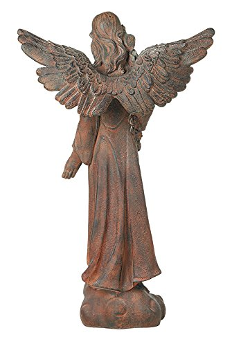 English Tudor Garden Angel 41 1/2'' High Statue by Kensington Hill (Image #5)