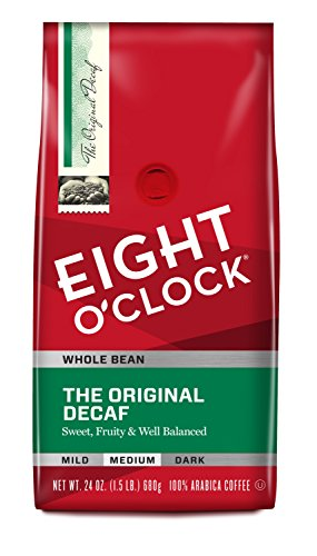 Eight O'Clock The Original Decaf Whole Bean Coffee
